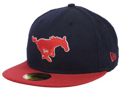 Southern Methodist Mustangs NCAA 2 Tone 59FIFTY Cap Hats