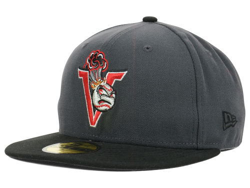 Salem-Keizer Volcanoes New Era MiLB AC 59FIFTY Cap Hats