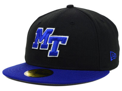 Middle Tennessee State Blue Raiders NCAA 2 Tone 59FIFTY Cap Hats