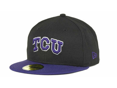 Texas Christian Horned Frogs NCAA 2 Tone 59FIFTY Cap Hats