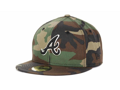 Atlanta Braves New Era Mlb Bc Camo 59fifty Cap Lids Com