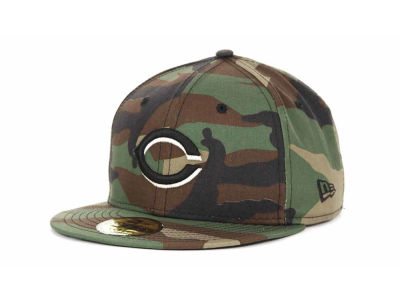 Cincinnati Reds MLB BC Camo 59FIFTY Cap Hats