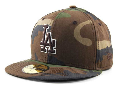 Los Angeles Dodgers MLB BC Camo 59FIFTY Cap Hats