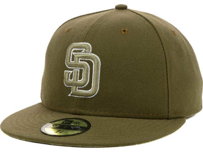 San Diego Padres MLB 2016 Turn Back the Clock 59FIFTY Cap Hats