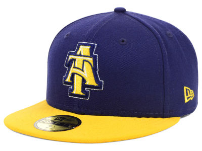 North Carolina A&T Aggies NCAA 2 Tone 59FIFTY Cap Hats