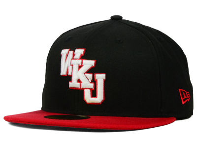 Western Kentucky Hilltoppers NCAA 2 Tone 59FIFTY Cap Hats