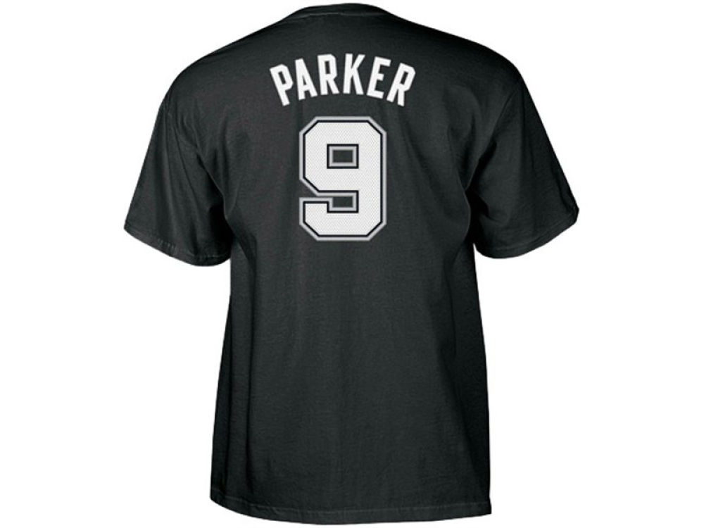 high-quality San Antonio Spurs Tony Parker adidas NBA Men s Player T-Shirt ab54f6f9f