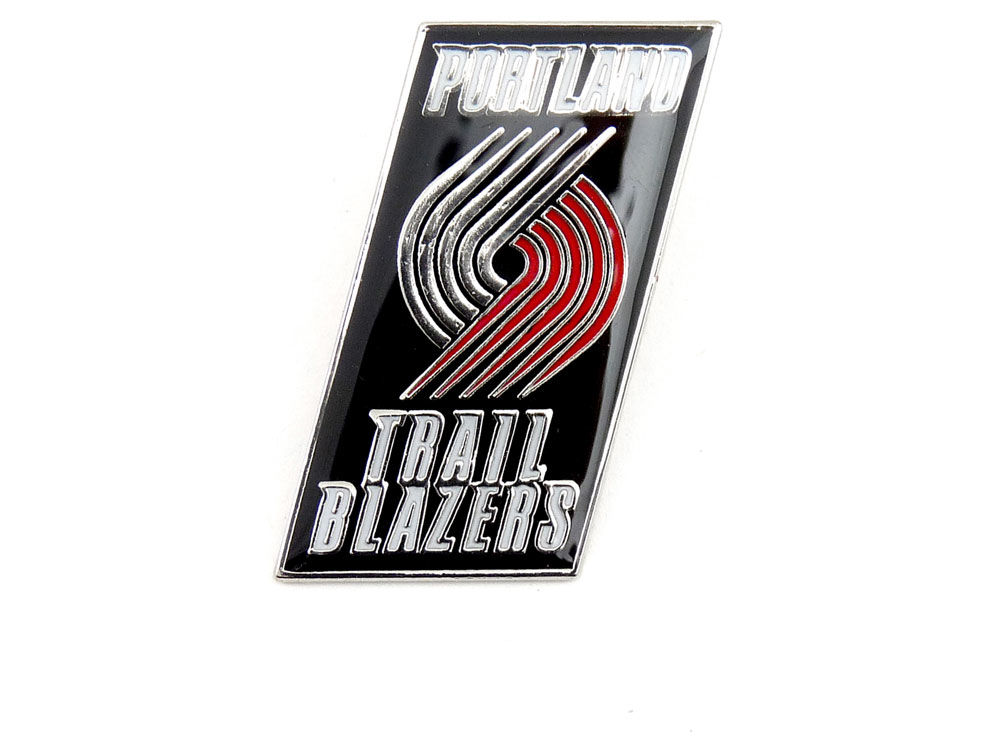 on sale 888c8 f2393 hot sale Portland Trail Blazers Logo Pin.