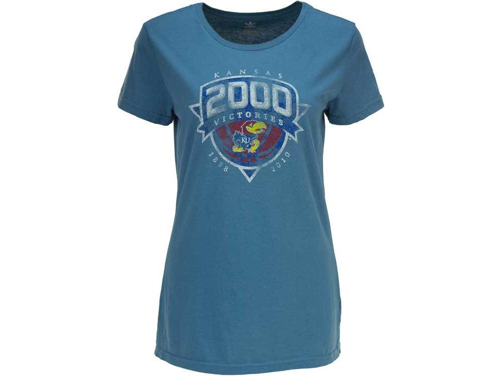 buy online b9708 c07d1 new Kansas Jayhawks adidas NCAA Womens Better Miss 2000 T-Shirt.