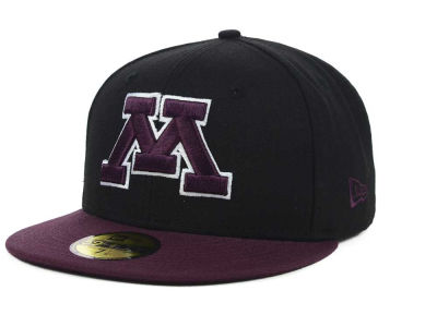 Minnesota Golden Gophers NCAA 2 Tone 59FIFTY Cap Hats