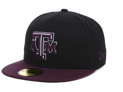 Texas A&M Aggies NCAA 2 Tone 59FIFTY Cap Hats
