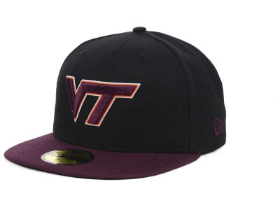 Virginia Tech Hokies NCAA 2 Tone 59FIFTY Cap Hats