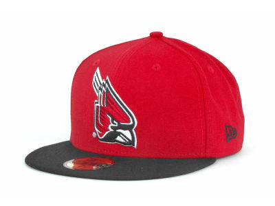 Ball State Cardinals NCAA 2 Tone 59FIFTY Cap Hats
