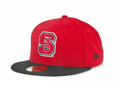 North Carolina State Wolfpack NCAA 2 Tone 59FIFTY Cap Hats