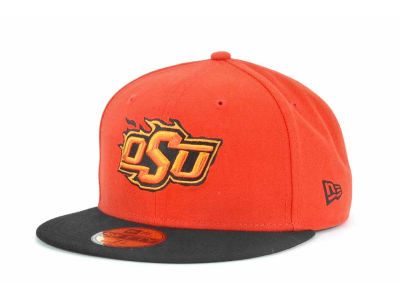 Oklahoma State Cowboys NCAA 2 Tone 59FIFTY Cap Hats
