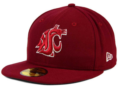 Washington State Cougars NCAA AC 59FIFTY Cap Hats