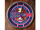 Ole Miss Rebels Chrome Clock Bed & Bath