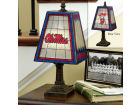 Ole Miss Rebels Art Glass Table Lamp Bed & Bath