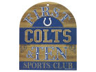 Indianapolis Colts Wincraft 10x11 Wood Sign Kitchen & Bar