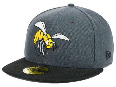 Alabama State Hornets NCAA 2 Tone Graphite and Team Color 59FIFTY Cap Hats