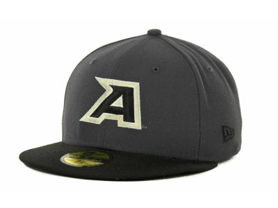 Army Black Knights NCAA 2 Tone Graphite and Team Color 59FIFTY Cap Hats