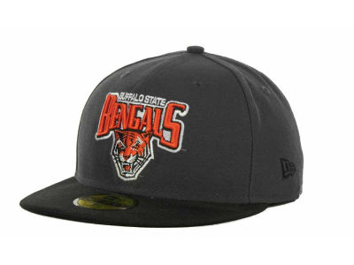 Buffalo State Bengals NCAA 2 Tone Graphite and Team Color 59FIFTY Cap Hats