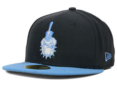 Citadel Bulldogs NCAA 2 Tone Graphite and Team Color 59FIFTY Cap Hats