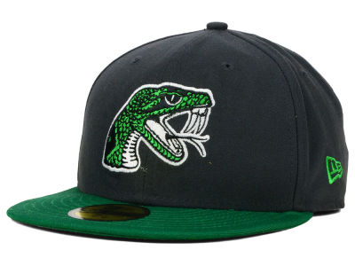 Florida A&M Rattlers NCAA 2 Tone Graphite and Team Color 59FIFTY Cap Hats