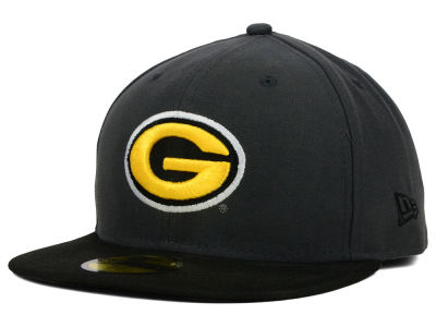Grambling Tigers NCAA 2 Tone Graphite and Team Color 59FIFTY Cap Hats