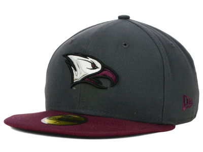 North Carolina Central University Eagles NCAA 2 Tone Graphite and Team Color 59FIFTY Cap Hats