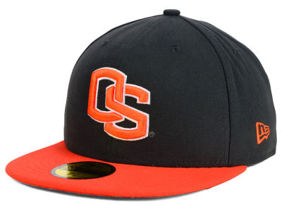 Oregon State Beavers NCAA 2 Tone Graphite and Team Color 59FIFTY Cap Hats