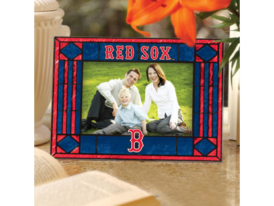 Boston Red Sox Art Glass Picture Frame Lids Com