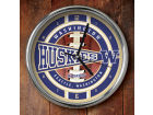 Washington Huskies Chrome Clock Bed & Bath