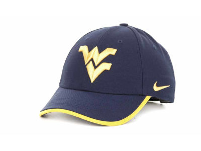 74284454 West Virginia Mountaineers Nike Dri Fit Coaches Cap 2012   lids.com