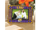 LSU Tigers Art Glass Picture Frame Bed & Bath