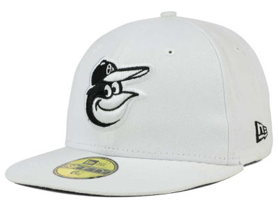 Baltimore Orioles MLB White And Black 59FIFTY Cap Hats