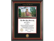 Diploma Frame Mahogany With Gold Lip Photo Home Office & School Supplies