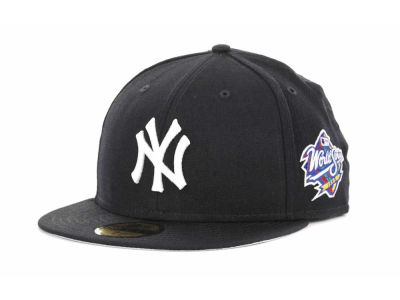 New York Yankees MLB Retro World Series Patch 59FIFTY Cap Hats