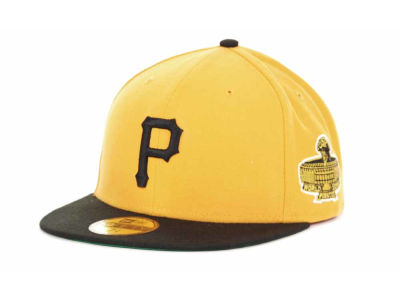 Pittsburgh Pirates MLB Retro World Series Patch 59FIFTY Cap Hats