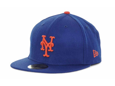New York Mets MLB Retro World Series Patch 59FIFTY Cap Hats