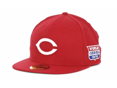 Cincinnati Reds MLB Retro World Series Patch 59FIFTY Cap Hats