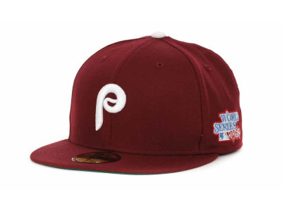 Philadelphia Phillies MLB Retro World Series Patch 59FIFTY Cap Hats