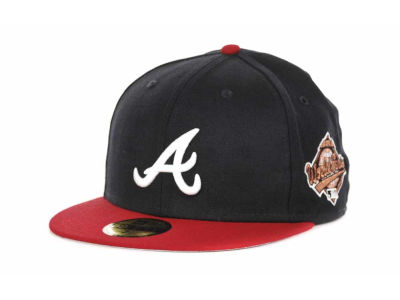 Atlanta Braves MLB Retro World Series Patch 59FIFTY Cap Hats