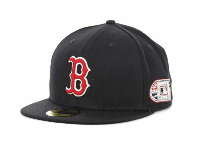 Boston Red Sox MLB Retro World Series Patch 59FIFTY Cap Hats