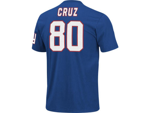 New York Giants Victor Cruz VF Licensed Sports Group NFL Men's Eligible Receiver T-Shirt