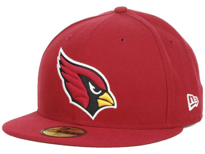 Arizona Cardinals NFL Official On Field 59FIFTY Cap Hats