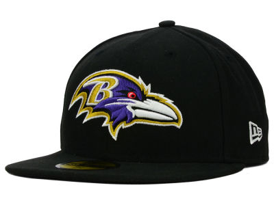 Baltimore Ravens NFL 2012 On Field 59FIFTY Cap Hats