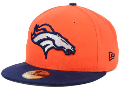 Denver Broncos NFL 2012 On Field 59FIFTY Cap Hats