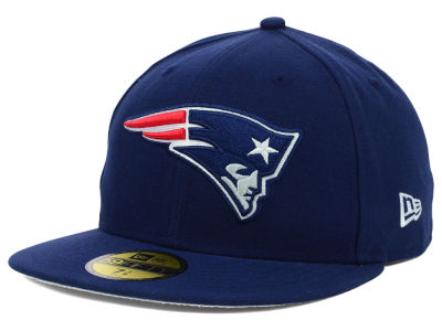 New England Patriots NFL 2012 On Field 59FIFTY Cap Hats