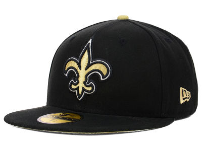 New Orleans Saints NFL Official On Field 59FIFTY Cap Hats